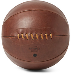 Shinola Leather Basketball
