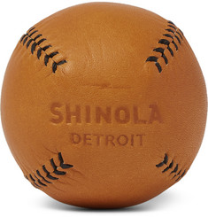Shinola Leather Baseball