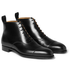 George Cleverley William Leather Ankle Boots
