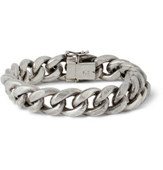 Foundwell Vintage Sterling Silver Curb Chain Bracelet
