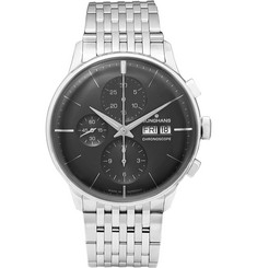 Junghans - Meister Chronoscope Stainless Steel Watch