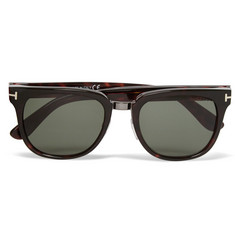 Tom Ford Rock D-Frame Tortoiseshell Acetate Sunglasses