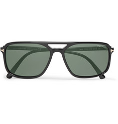 Tom Ford Terry Acetate Aviator-Style Sunglasses