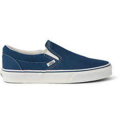 0f71b987fe Vans Classic Suede and Canvas Slip-On Sneakers