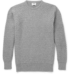 William Lockie Cable-Knit Cashmere Sweater