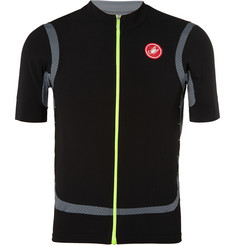 Castelli Raffica Zipped Cycling Jersey