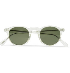 Oliver Peoples - Gregory Peck Round-Frame Acetate Sunglasses