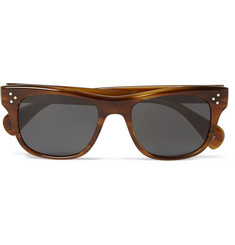 Oliver Peoples Jack Huston Square-Frame Acetate Sunglasses
