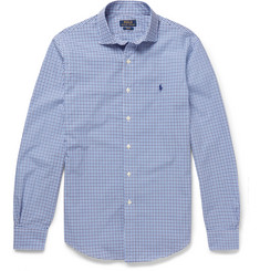 Polo Ralph Lauren Slim-Fit Gingham Checked Cotton Shirt