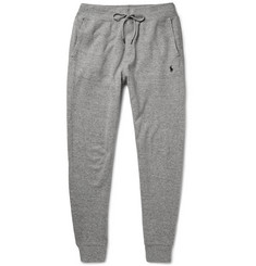 Polo Ralph Lauren Ribbed Cotton-Blend Jersey Sweatpants