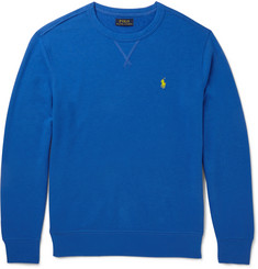 Polo Ralph Lauren Loopback Cotton-Blend Sweatshirt