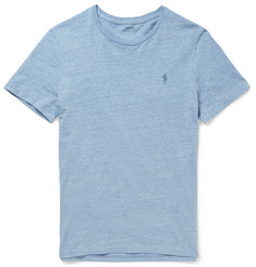 Polo Ralph Lauren Slim-Fit Heathered Cotton-Jersey T-Shirt
