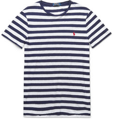 Polo Ralph Lauren Slim-Fit Striped Cotton-Jersey T-Shirt