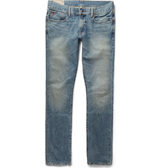 Polo Ralph Lauren Sullivan Slim-Fit Washed-Denim Jeans