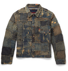 KAPITAL Boro Patchwork Denim Jacket
