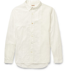KAPITAL Katmandu Slim-Fit Cotton and Linen-Blend Shirt