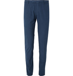 Boglioli Tapered Nep Cotton-Blend Trousers