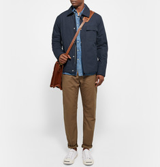 Gant Rugger Coated Cotton-Canvas Deck Jacket