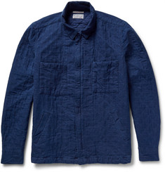Gant Rugger Quilted Cotton-Twill Shirt Jacket