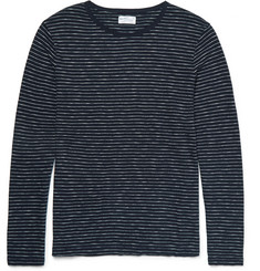 Gant Rugger Striped Knitted Cotton T-Shirt