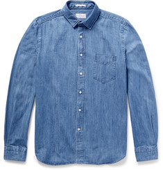 Gant Rugger - Slim-Fit Washed-Denim Shirt
