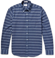 Gant Rugger - Slim-Fit Printed Cotton Oxford Shirt