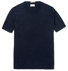 Gant Rugger - Knitted Cotton, Silk and Wool-Blend T-Shirt