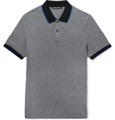 Michael Kors Slim-Fit Cotton-Piqué Polo Shirt