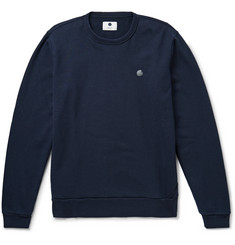 NN07 Luke Loopback Cotton-Jersey Sweatshirt