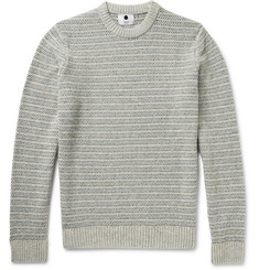 NN07 Frankie Striped Wool-Blend Sweater