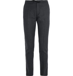 NN07 Copenhagen Slim-Fit Drawstring Flannel Trousers