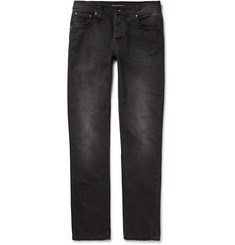 Nudie Jeans - Grim Tim Skinny-Fit Washed Organic Denim Jeans