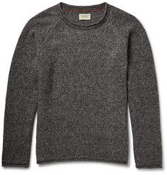Nudie Jeans Vladimir Mélange Wool-Blend Sweater