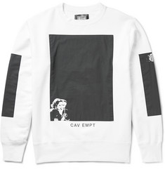 Cav Empt Black Rooms Printed Loopback Cotton-Jersey Sweatshirt