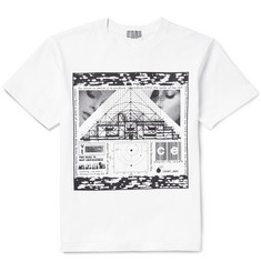 Cav Empt Lack Chart Printed Cotton-Jersey T-Shirt