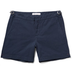 Orlebar Brown Carvin Cotton and Linen-Blend Shorts