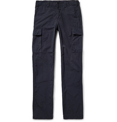 Aspesi Slim-Fit Garment-Dyed Matte-Shell Cargo Trousers