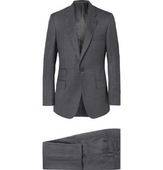 Kingsman - Grey Slim-Fit Puppytooth Checked Wool Suit