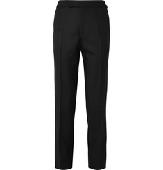 Kingsman - Slim-Fit Wool and Mohair-Blend Tuxedo Trousers