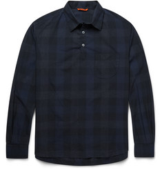 Barena Checked Cotton-Poplin Shirt