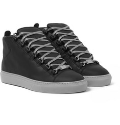 Balenciaga - Leather High-Top Sneakers
