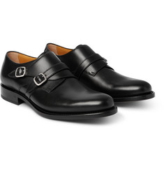 O'Keeffe - Bristol Leather Monk-Strap Shoes