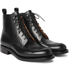 O'Keeffe Algy Split-Toe Leather Boots
