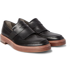 Armando Cabral Leather Penny Loafers