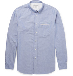 Officine Generale - Slim-Fit Cotton Oxford Shirt