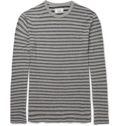 Officine Generale - Striped Cotton-Jersey T-Shirt