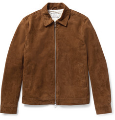 Officine Generale Water-Repellent Suede Jacket