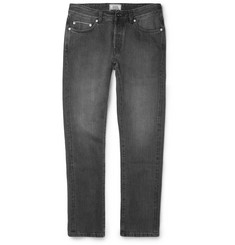 Officine Generale Washed Selvedge-Denim Jeans