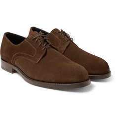 Officine Generale - Suede Derby Shoes