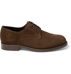 Officine Generale Suede Derby Shoes